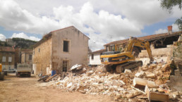 deconstruction bâtiment en charente