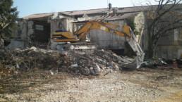déconstruction maison charente