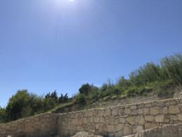 mur de soutènement - travaux en charente
